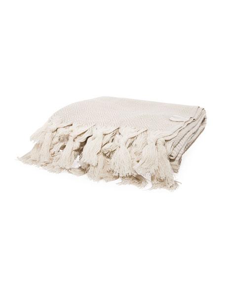 Vie Healing Exclusive Medi Havlu Cr&#232me Turkish Towel