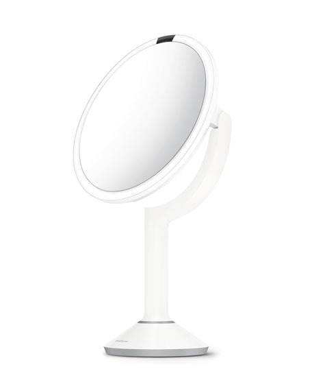 "simplehuman Exclusive 8"" Sensor Mirror Trio, White"