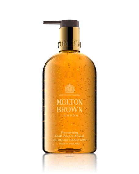 Molton Brown Mesmerizing Oudh Accord & Gold Hand Wash, 10 oz./ 300 mL