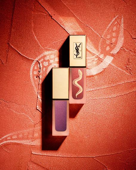 Yves Saint Laurent Beaute Tatouage Couture Metallics Liquid Matte Lip Stain Collector