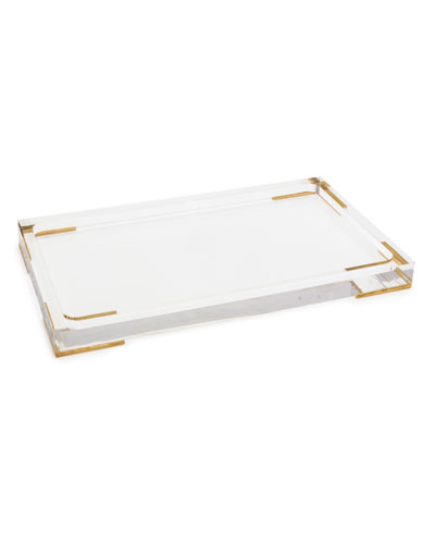Acrylic Tray for the Antica Home and Body Collection