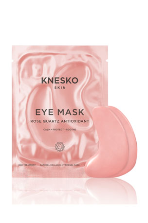 Knesko Skin Rose Quartz Eye Mask - 6 Treatments