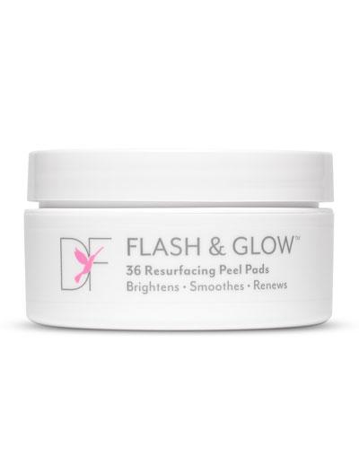 Dermaflash Flash & Glow Resurfacing Peel Pads  36 ct