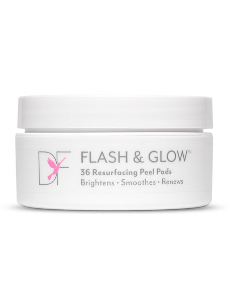 DermaFlash Dermaflash Flash & Glow Resurfacing Peel Pads, 36 ct