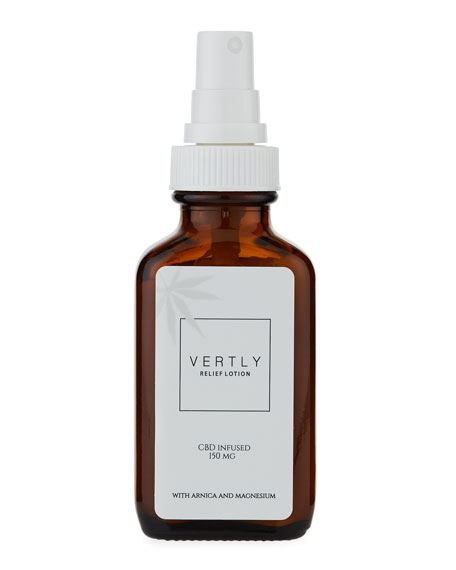 Vertly Hemp Infused Relief Lotion, 3.0 oz./ 89 mL