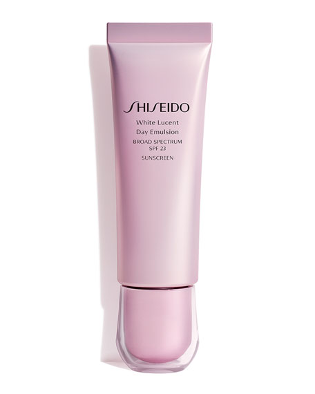 Image 1 of 3: Shiseido 1.7 oz. White Lucent Day Emulsion Broad Spectrum SPF 23