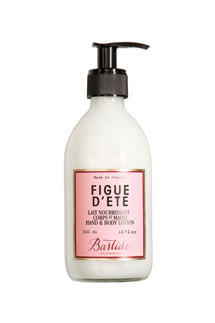 Bastide Figue d'Ete Hand & Body Lotion, 10 oz./ 300 mL