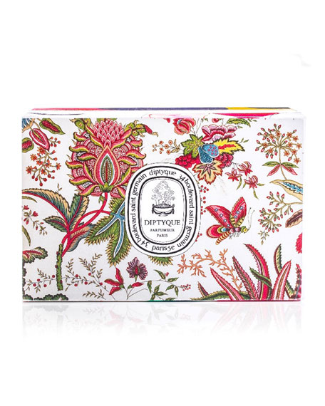 Diptyque Roses & Aubepine Scented Candle Set, 2 x 6.7 oz./ 190g