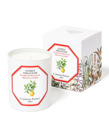 Carriere Freres Siracusa Lemon Candle, 6.5 oz. / 184 g