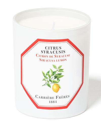 Siracusa Lemon Candle  6.5 oz. / 184 g