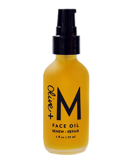 Olive + M Face Oil, 2 oz./ 60 mL