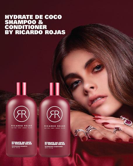 Ricardo Rojas Hair Hydrate De Coco Shampoo, 10 oz./ 296 mL