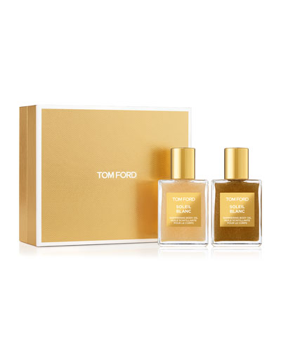NM Exclusive Soleil Blanc Shimmering Body Oil Set