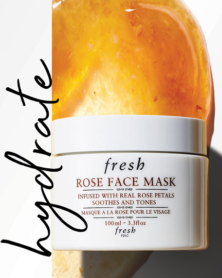 Rose Face Mask, 3.3 oz.