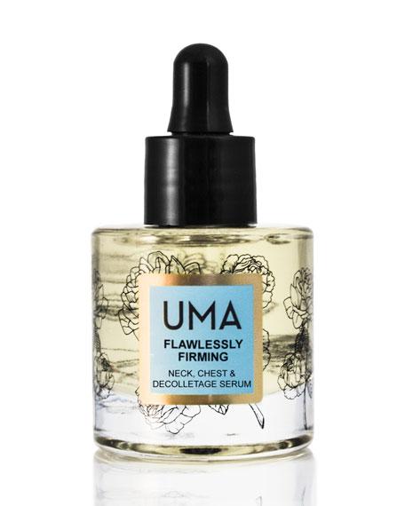 UMA Oils Flawlessly Firming Neck, Chest & Decolletage Serum, 1 oz.