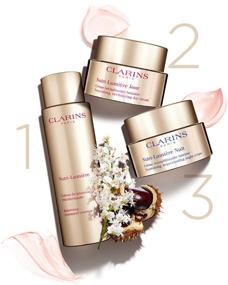 Image 4 of 5: Clarins 1.6 oz. Nutri-Lumiere Day Cream