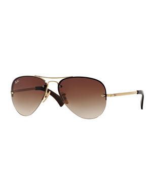 7c2ac65d574c7 Designer Aviator Sunglasses at Neiman Marcus