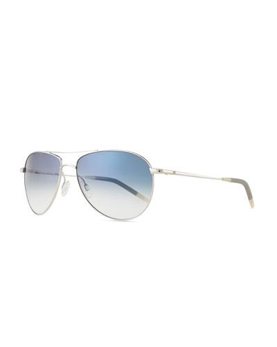 Benedict Basic Aviators  Silver/Chrome