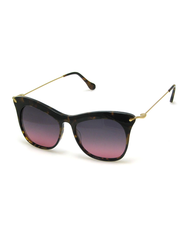 f614b562b5 Elizabeth   James Fairfax Cat-Eye Sunglasses