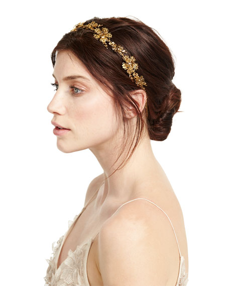 Nyssa Golden Circlet Headband