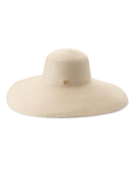 Woven Floppy Sun Hat