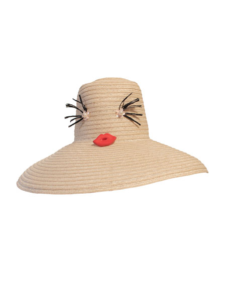 Cheeky Straw Hat, Natural