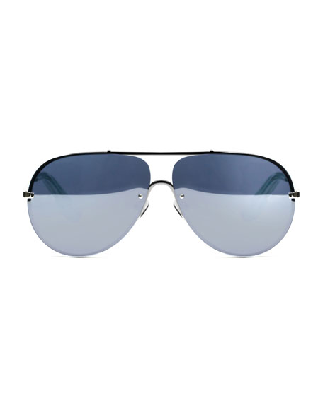 Mirrored Aviator Sunglasses  elizabeth and james ryder mirrored aviator sunglasses