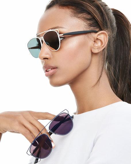 Technologic Mirrored Sunglasses
