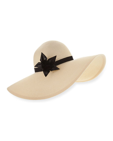Eugenia Kim Bunny Hemp-Blend Sun Hat, Ivory