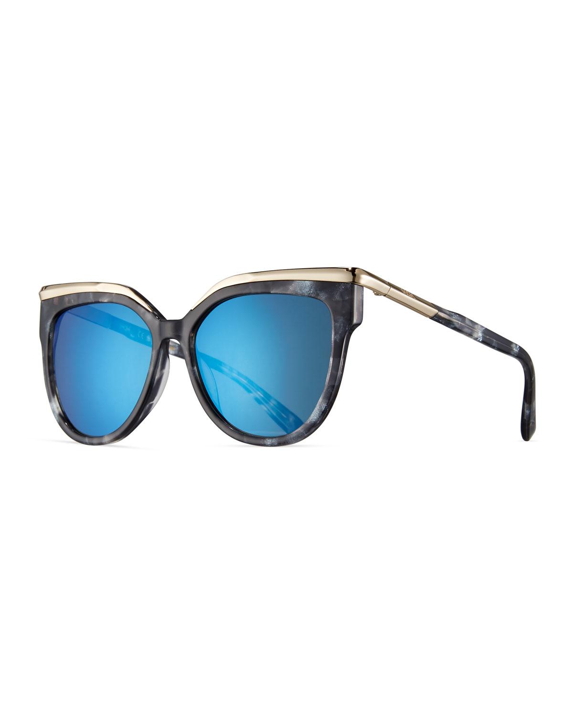 59450915029 MCM Oversized Cat-Eye Sunglasses