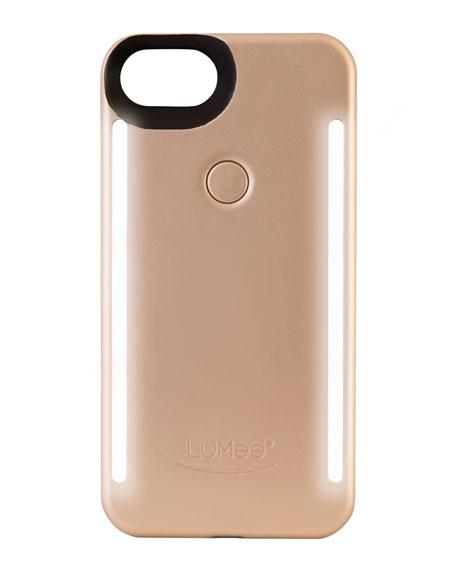 iPhone® 7 Plus Photo-Lighting Duo Case, Matte Gold