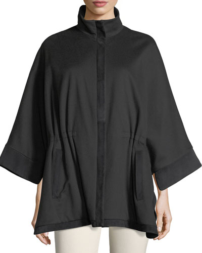 Winter Bloomsbury Cashmere Cape