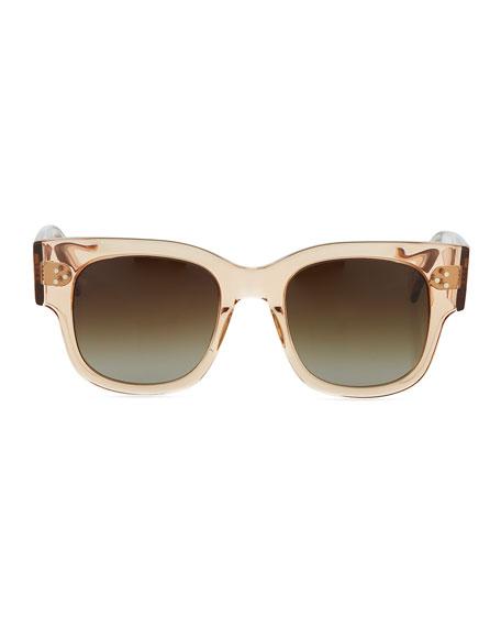 Tavita Square Chunky Acetate Sunglasses