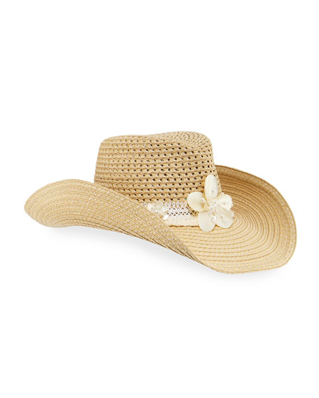 Eric Javits St. Tropez Woven Squishee Hat