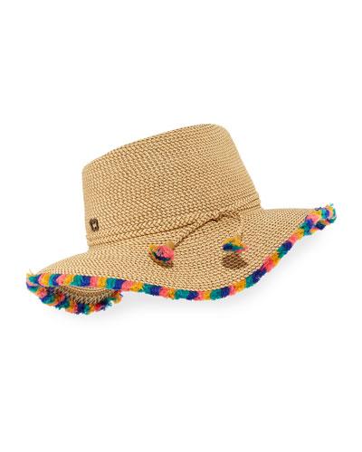 Frida Woven Squishee Sun Hat