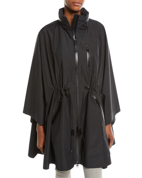 Mackage Sanna Packable Poncho Cape w/ Removable Hood
