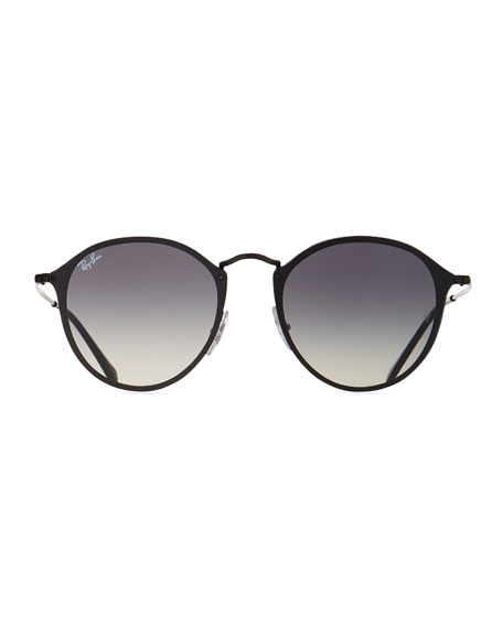 Blaze Round Gradient Sunglasses