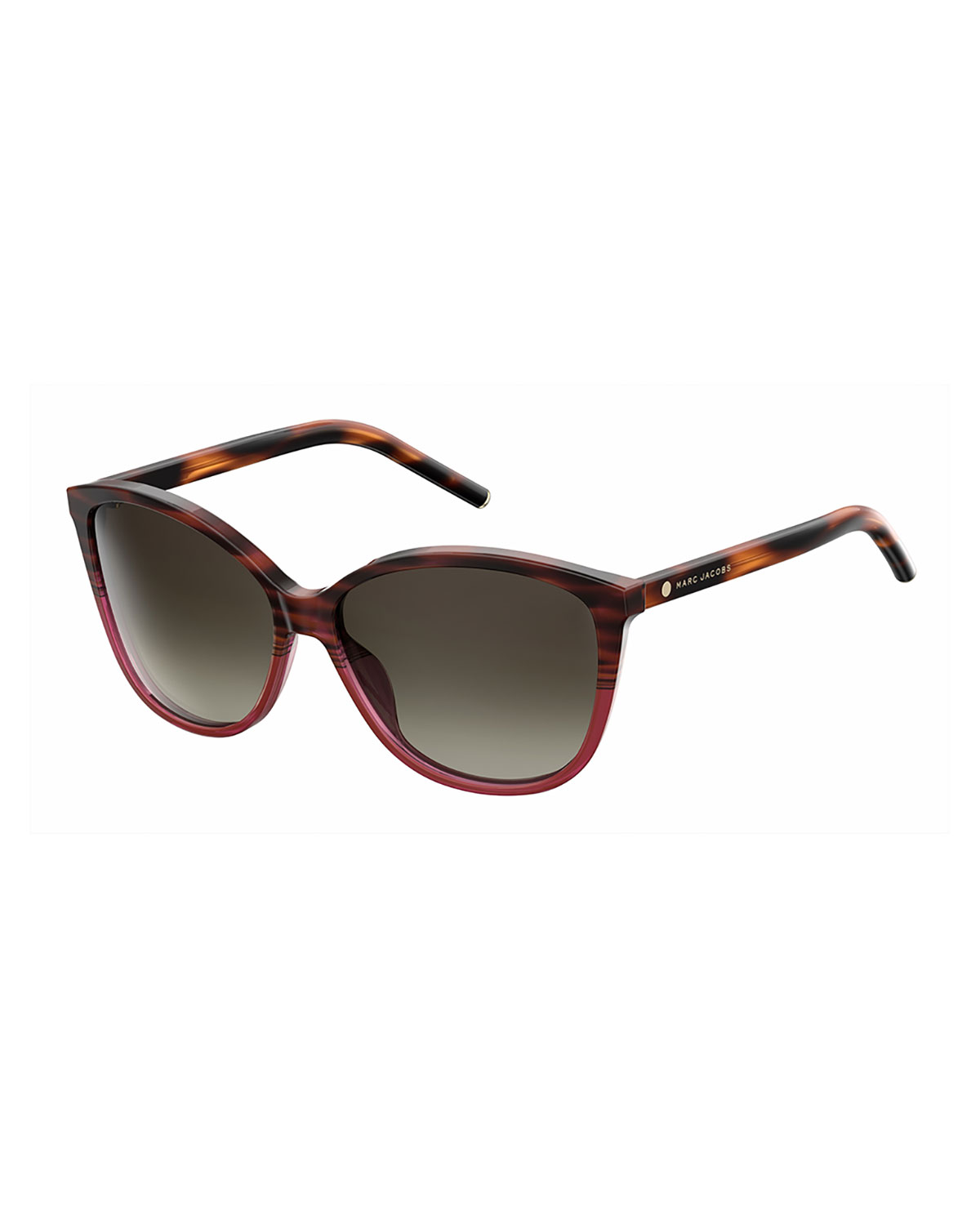 8171d3cb195 Marc Jacobs Gradient Squared Cat-Eye Sunglasses