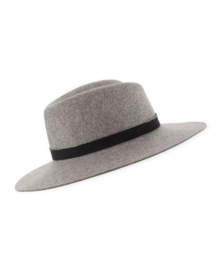 6a4a6137365 Rag   Bone Zoe Wool Fedora Hat