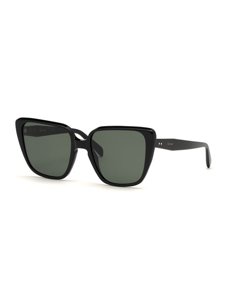 12a87b1c4c9 Celine Cat-Eye Acetate Sunglasses