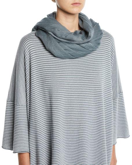 Eskandar Large Fine-Knit Cashmere Scarf