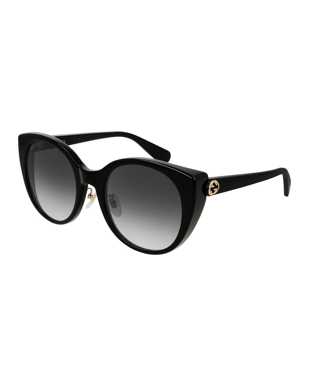 9617e7e8d8f0 Gucci Gradient Cat-Eye Sunglasses | Neiman Marcus