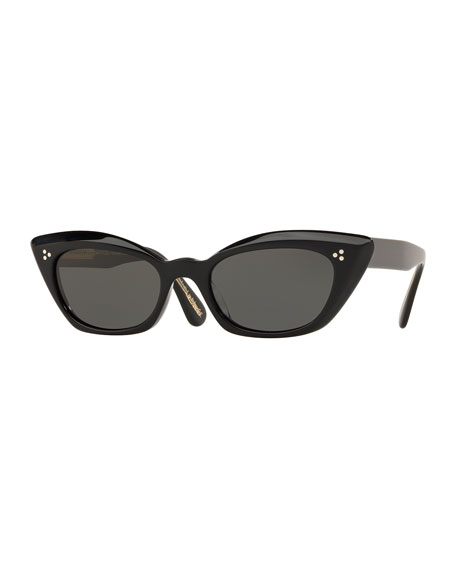 Oliver Peoples Bianka Acetate Cat-Eye Sunglasses
