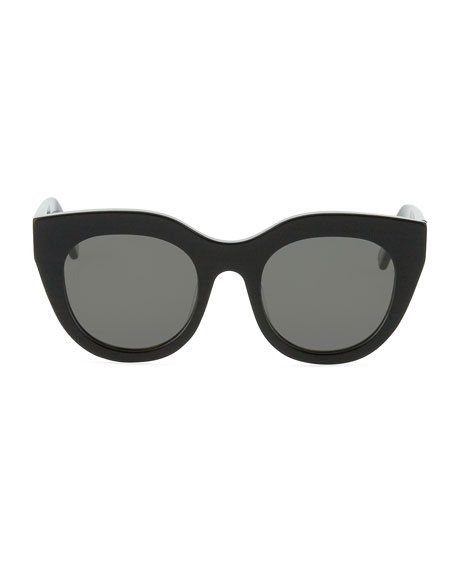Le Specs Airy Canary Cat-Eye Sunglasses