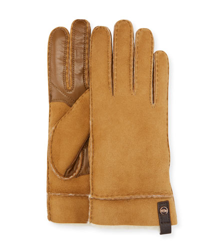 905c9ecf96e1b Tenney Suede   Leather Gloves w  Shearling Lining