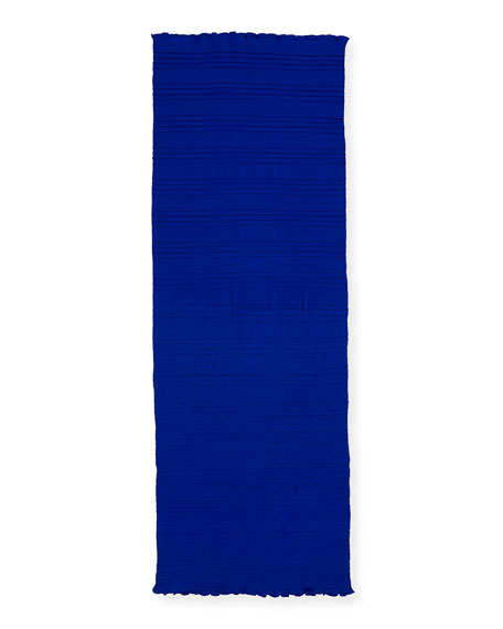 Eileen Fisher Mini-Pleated Scarf