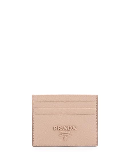 Prada Cases Monochrome Card Case