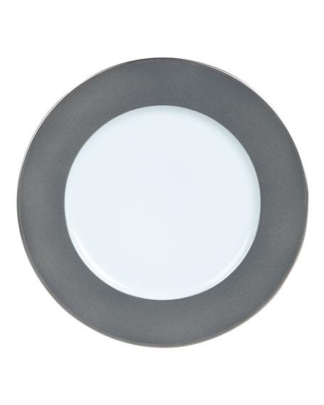 Haviland Color Block Gray/Platinum Bread & Butter Plate
