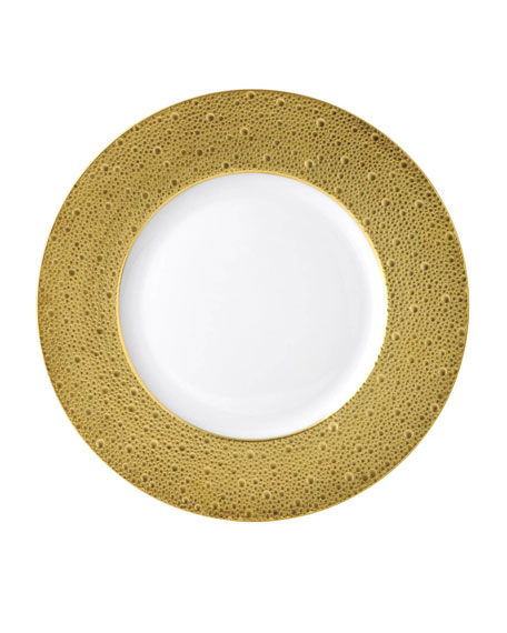Image 1 of 1: Ecume Gold Charger Plate