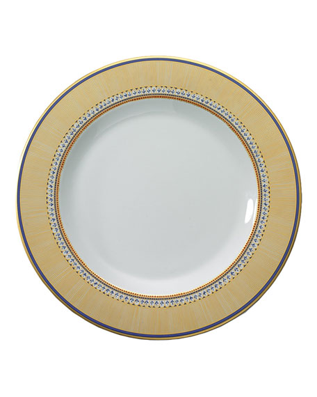 Mottahedeh Chinoise Blue Charger Plate